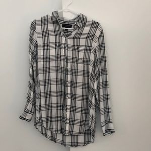 Boyfriend fit BR button down